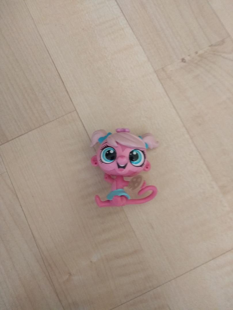Littlest pet shop domek małpki + miska z rybą